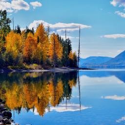 wapautumn fall landscape