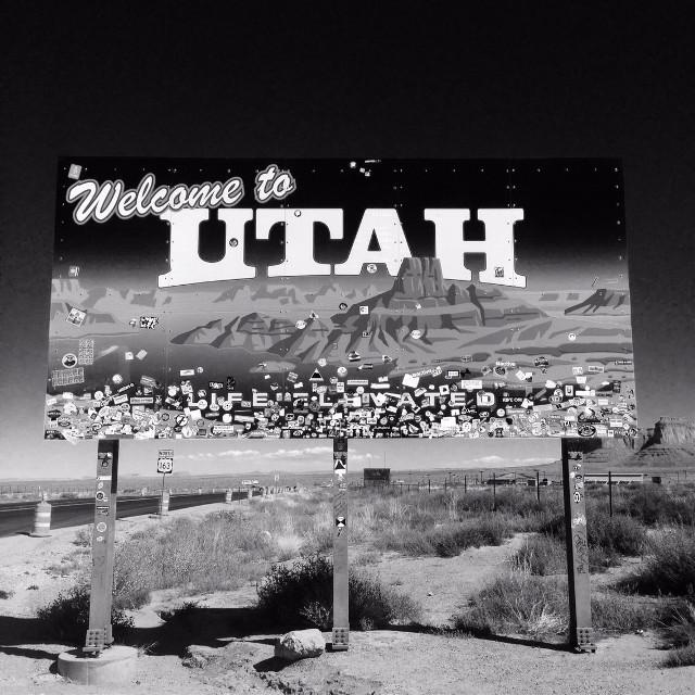 #utah#monumentvalley#interesting #sign