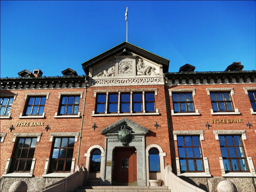 #photography  # arcitectur  #building  #old #contour #aalborg  The original taxchamber building from the medieval times.