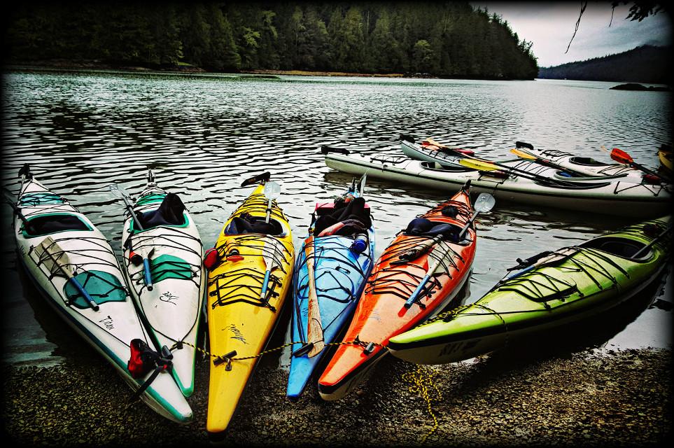 #colorful #nature #Canada #Tofino #kayak  #Mearsisland   #Vignette