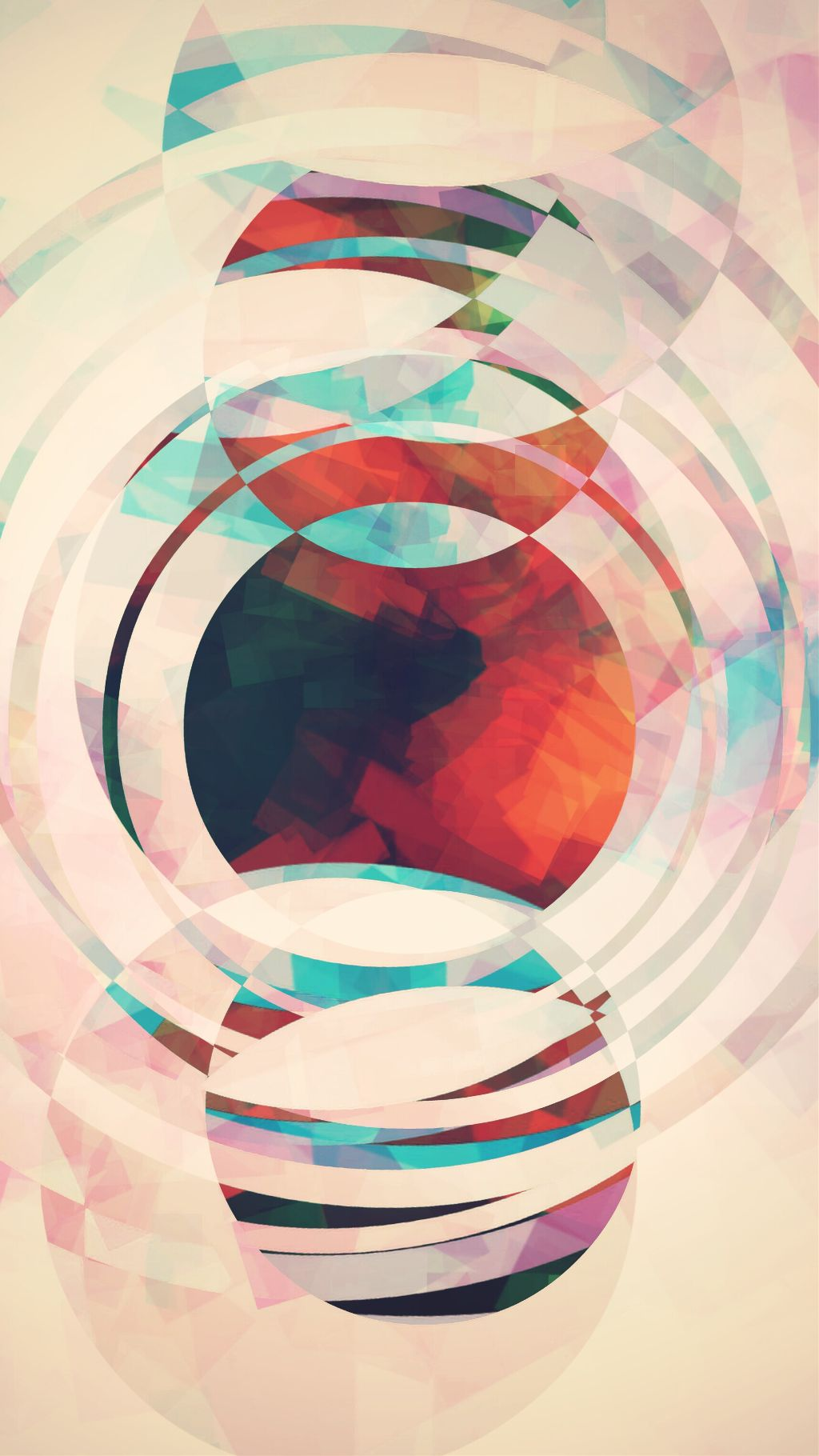 Edited pic of my edit,  that was an edit of an edit.    #negativeeffect #circles #abstract #blendmodes #experimenting