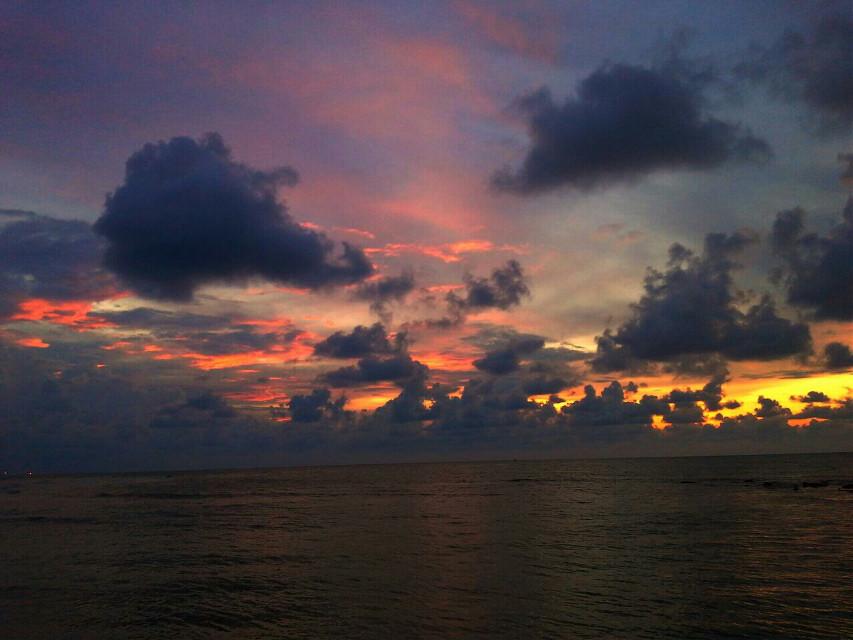 #sunset #panorama #nature #photography #beach