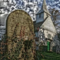 graveyard colorsplash creepy dead