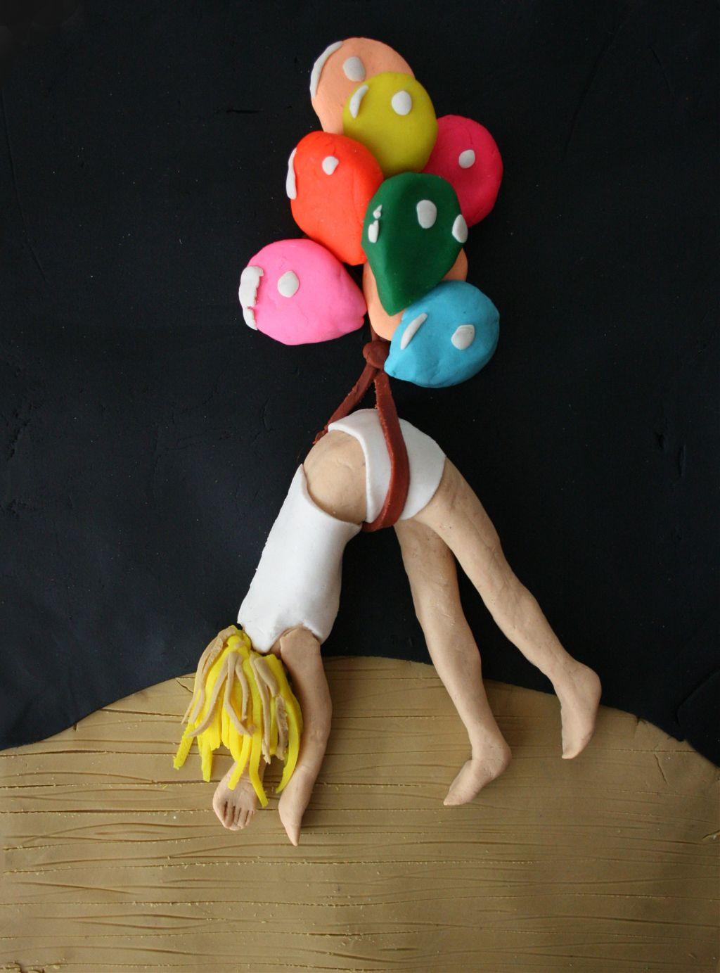 escape artist in play doh