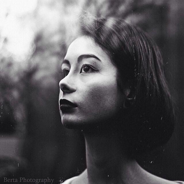 #black&white #photography #people #portrait #art #face #beutiful #woman #eyes #dark #bertaphotography