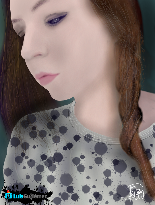 #wdpWomenPortraits #WdpPortrait  #freetoedit  #digitalDrawing  @maria-1983