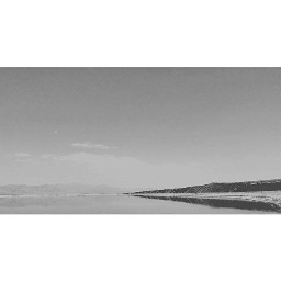 blackandwhite photography lake longroad end