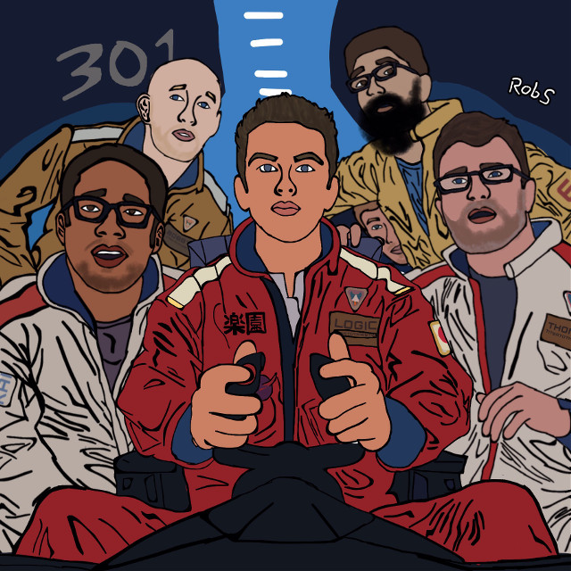 The Incredible True Story album cover fully recreated by me.   - Artwok originally by Sam Spratt. - This is the album cover of Logic's The Incredible True Story