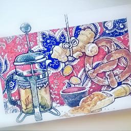 sketch sketchbook art drawing ink graphic watercolors