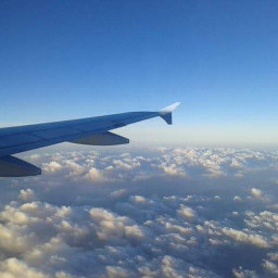 photography clouds airplane travel nature