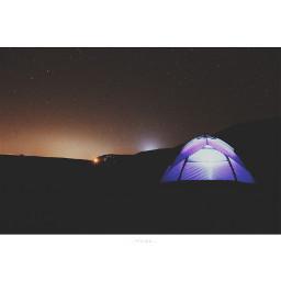 camping travel star oman nature