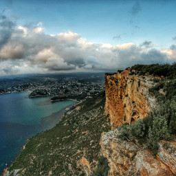 capcanaille cassis hdr photography sea