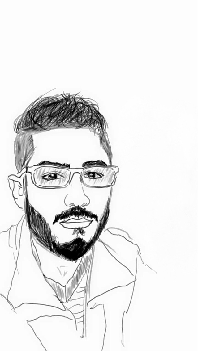 #drawing #blackandwhite  By PicsArt....😁😁😀