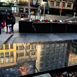 unionsquare citylife reflection photography saturdayevening