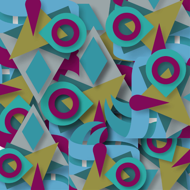 #abstract #shapes #colours
