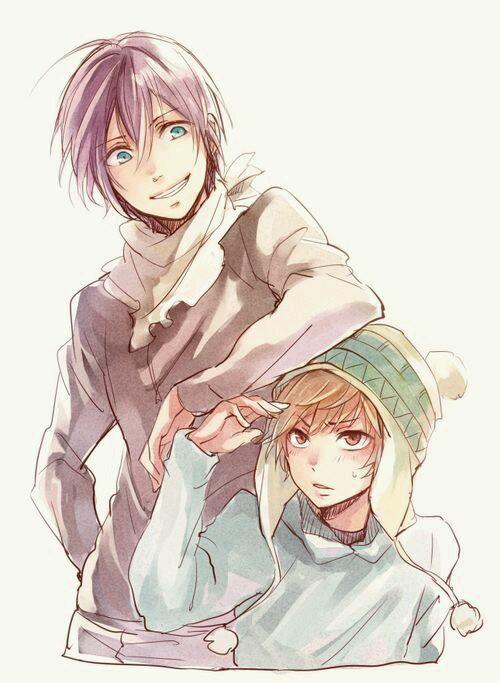 #Anime #cute  #kawaaii ♥♥♥ #noragami_aragoto #Yato_&_Yukine