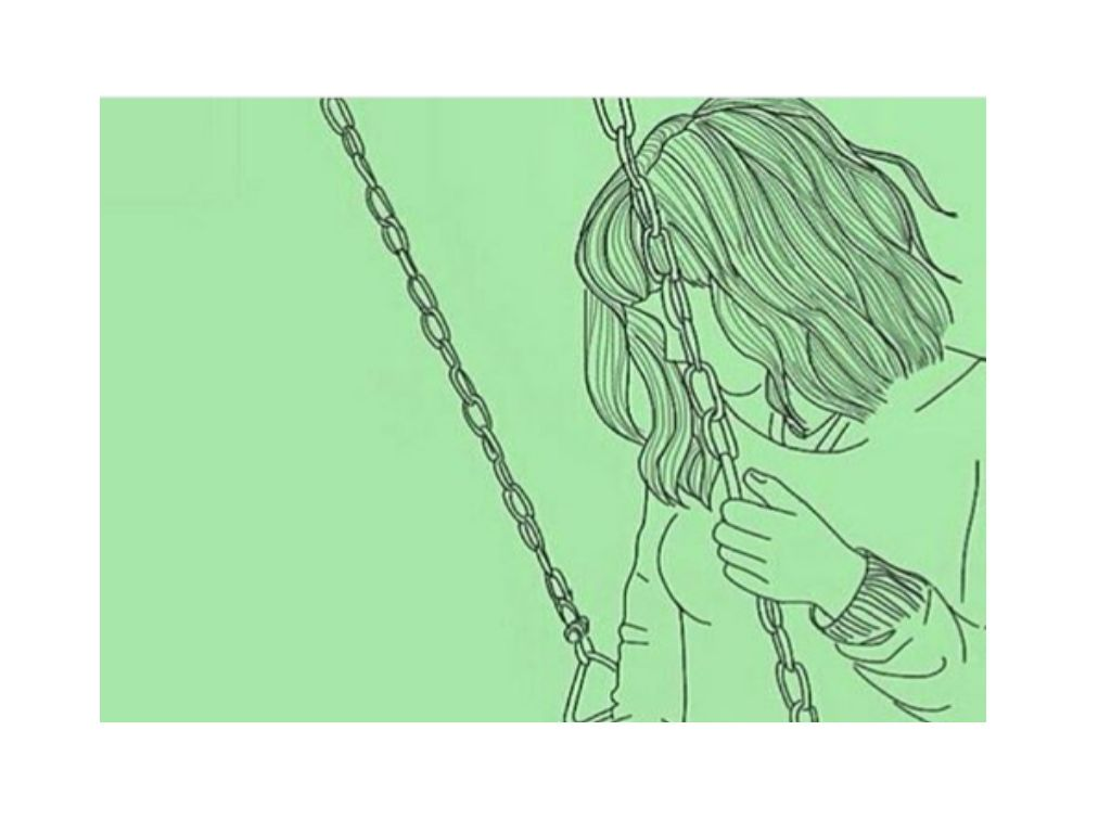Grunge Softgrunge Aesthetic Pale Green Tumblr Sadness