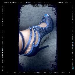 allenschwartz verocuoio blue spikes platformshoes