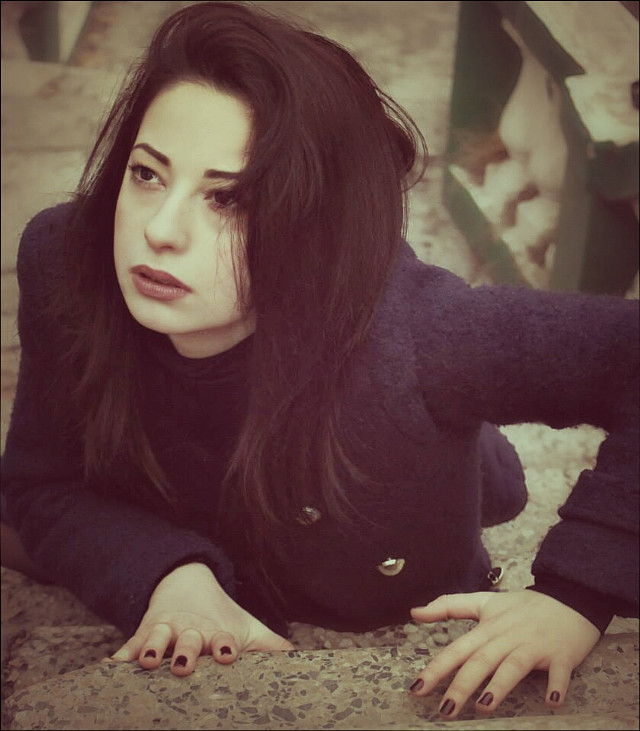 #girl #beautiful #young #vintage #portrait