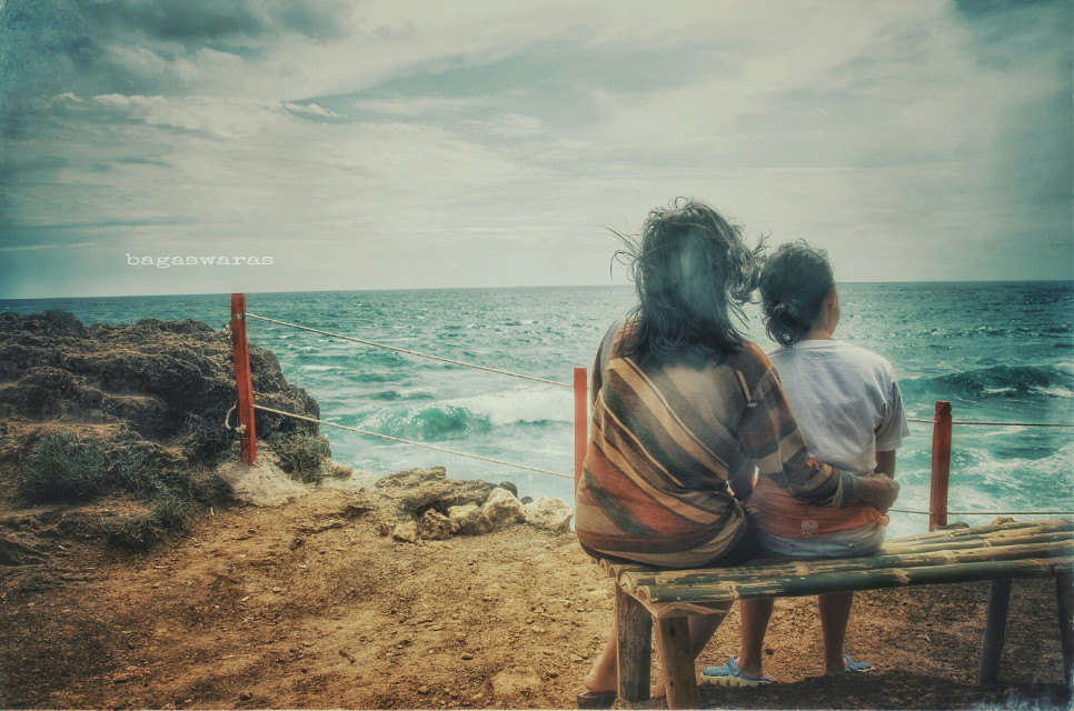 You & Me  #emotions #vintageeffect #sea #love #photography