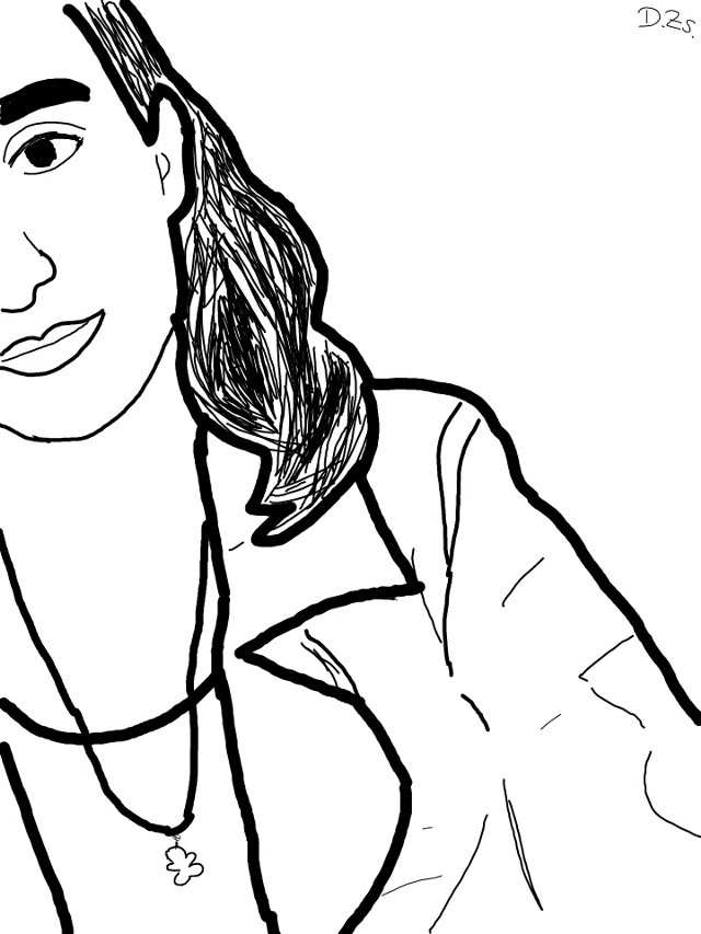 my frist outline ,, sorry if im not good at it 😊 #outline