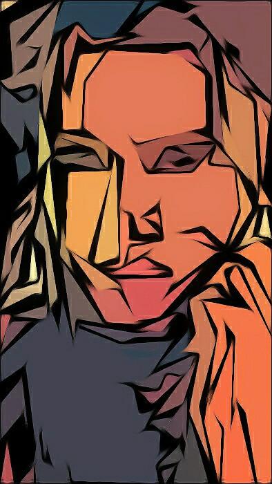 Shie @shie384   #portrait #fantasyart #abstract