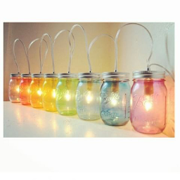 licht lichterkette glas photography photo