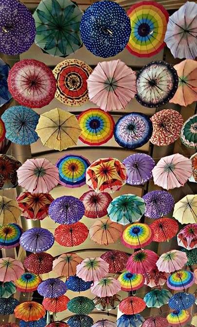 #colorful #umbrellas