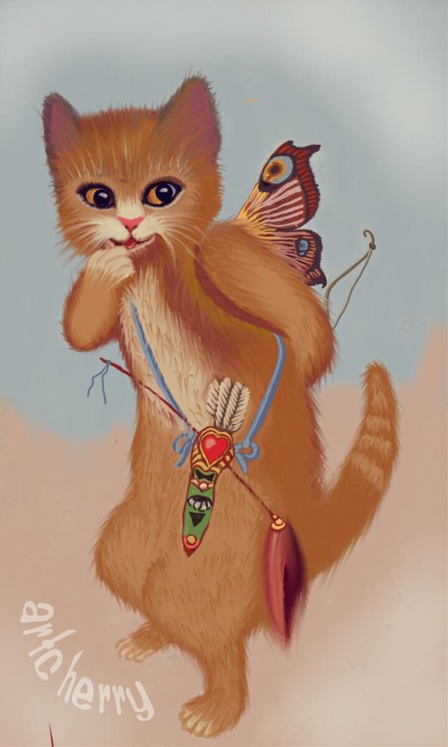 #wdpcupid cute catcupid