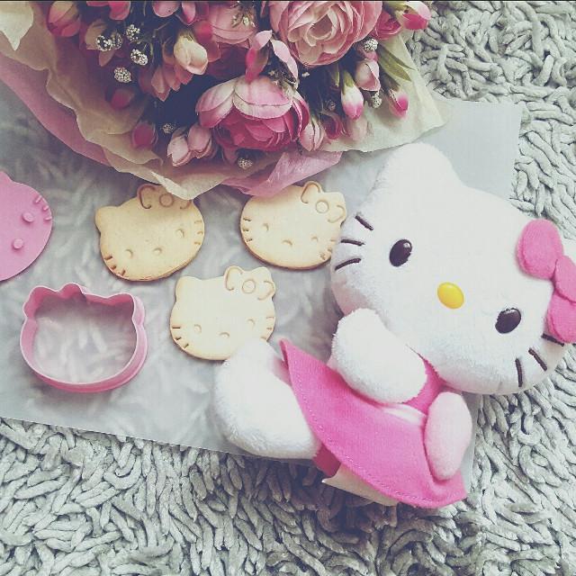 #cookies #homemade #hellokitty