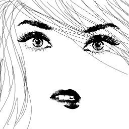 blackandwhite emotions freetoedit love pencilart