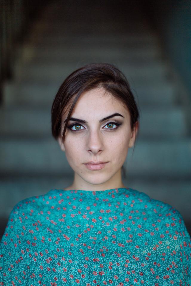 #FreeToEdit #portrait #girl #stairs #greeneyes #grig15