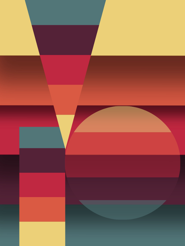 #abstract #colour #shape #triangle #circle #3d