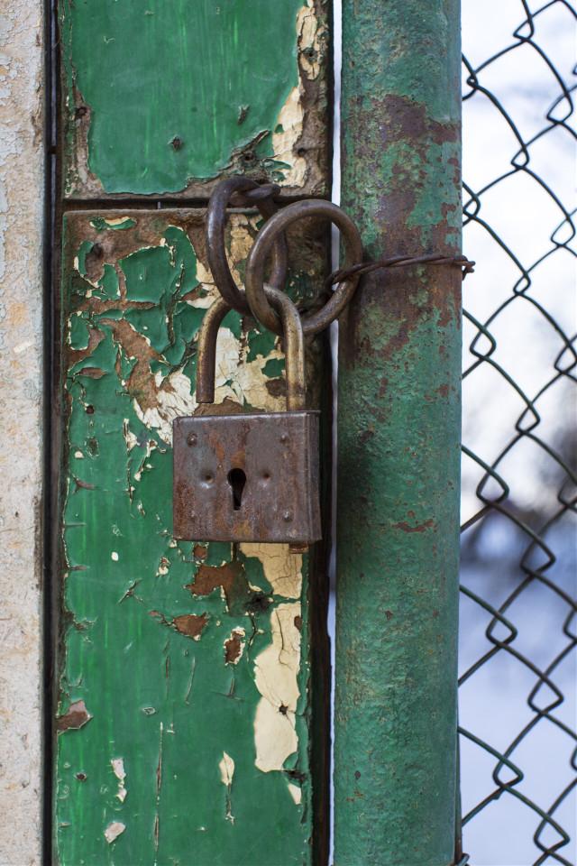 #FreeToEdit #background #pattern #green #lock #old #door #grig15