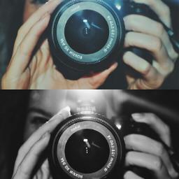 nikon blackandwhite camera reflection double