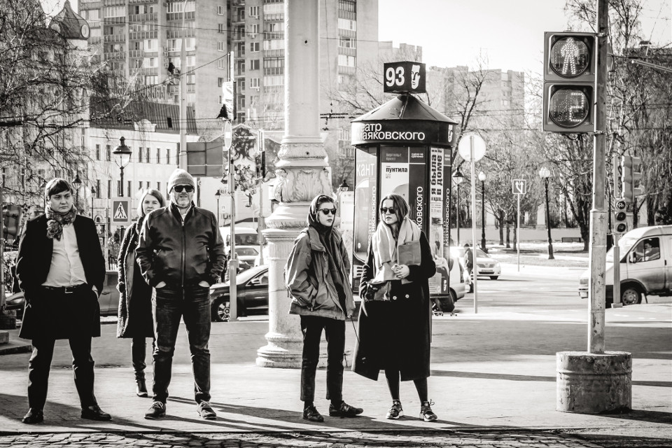 #streetphotography #blackandwhite #spring #moscow