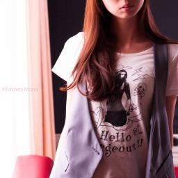 woman girl model light shadow portrait longhair afternoon
