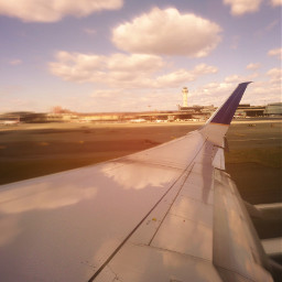 reflection plane wing zoomblureffect