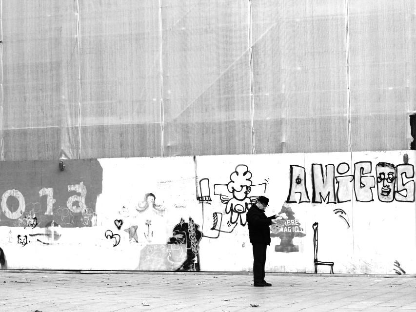 #blackandwhite #street #streetphotography #portrait #venice
