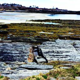 rocks sea