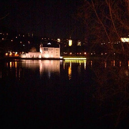 night city river interesting photography