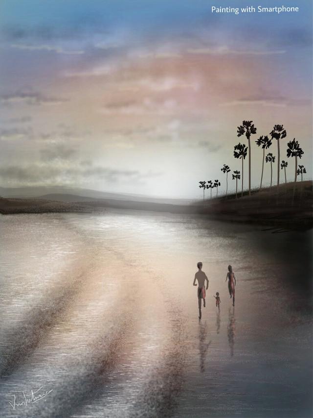 #drawing  #beach #nature