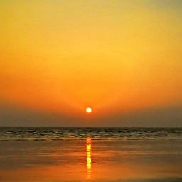 sunset beach nature summer photography