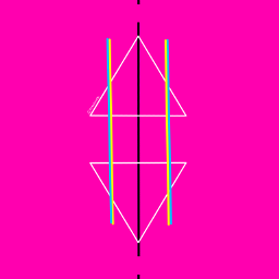 triangles dailyinspiration colorful geometry lines