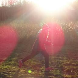 lensflare people sun sunny girl freetoedit