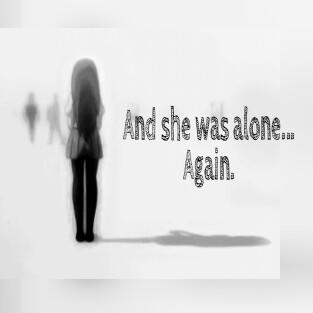 """♟""""Y si podia doler mas, doler me dolia hasta el aliento""""♟   #alone #pain #kawaii #editpropio"""