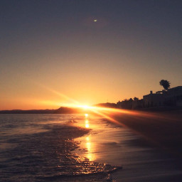 sunset beach mexico