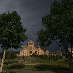 freetoedit yerevan church clouds sky