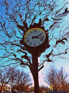 stretch dailyinspiration paphotochallenge ruthfeiertag clock